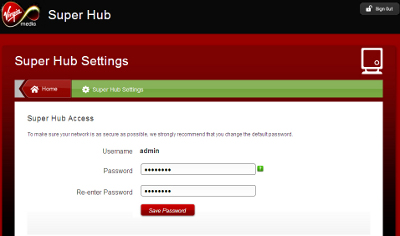 changing the router 39 s settings page password. Black Bedroom Furniture Sets. Home Design Ideas